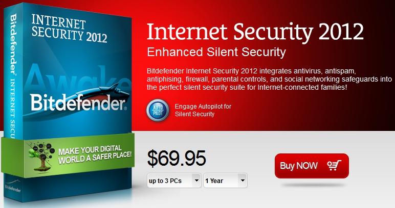 BitDefender Internet Security 2012 简体中文版 + 注册机