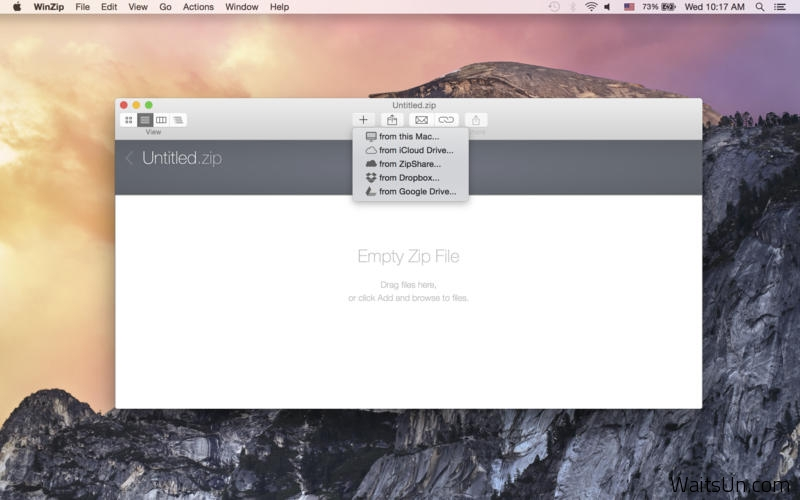 WinZip for Mac 5.0.3 序号版 – 经典老牌的压缩工具