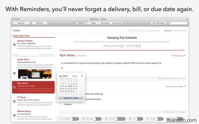 Mail Pilot for Mac 1.4 破解版 – Mac上简洁高效的邮件客户端-麦氪派