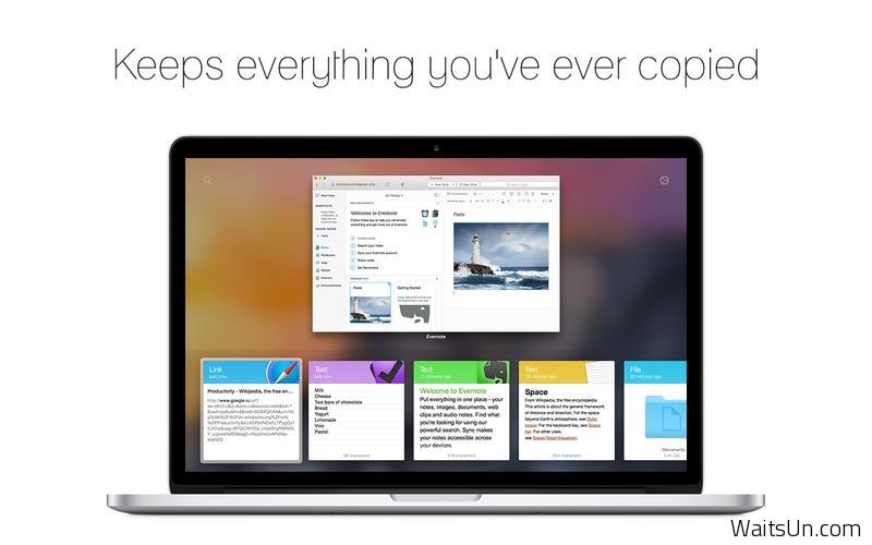 Paste for Mac 1.0.3 破解版 – 华丽的剪切板记录增强工具-麦氪派