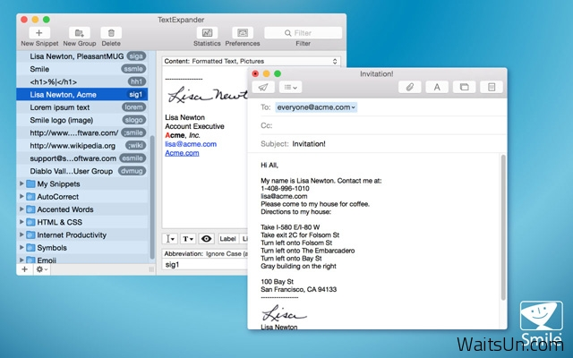 TextExpander for Mac 5.1 破解版 – Mac上优秀的文字快速输入替换工具-麦氪派