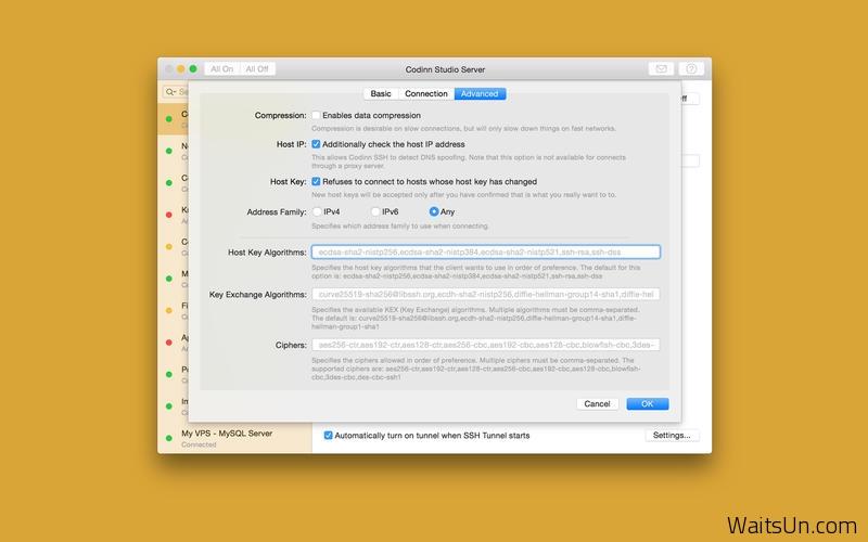 SSH Tunnel for Mac 15.09 破解版 – 优秀的SSH远程通道管理工具-麦氪派