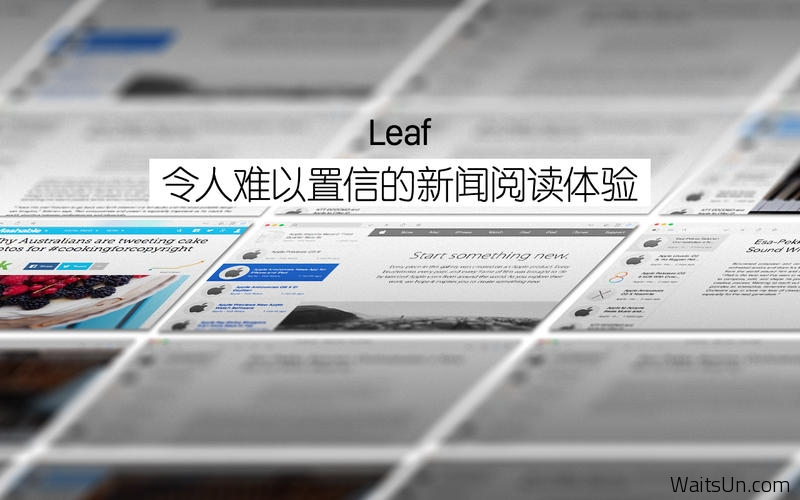 Leaf for Mac 5.0 破解版 – Mac上优秀的RSS阅读器