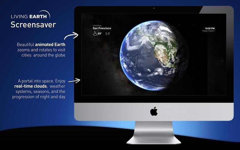 Living Earth for Mac 1.2.1 破解版 – Mac上绚丽的世界时间和天气软件-麦氪派