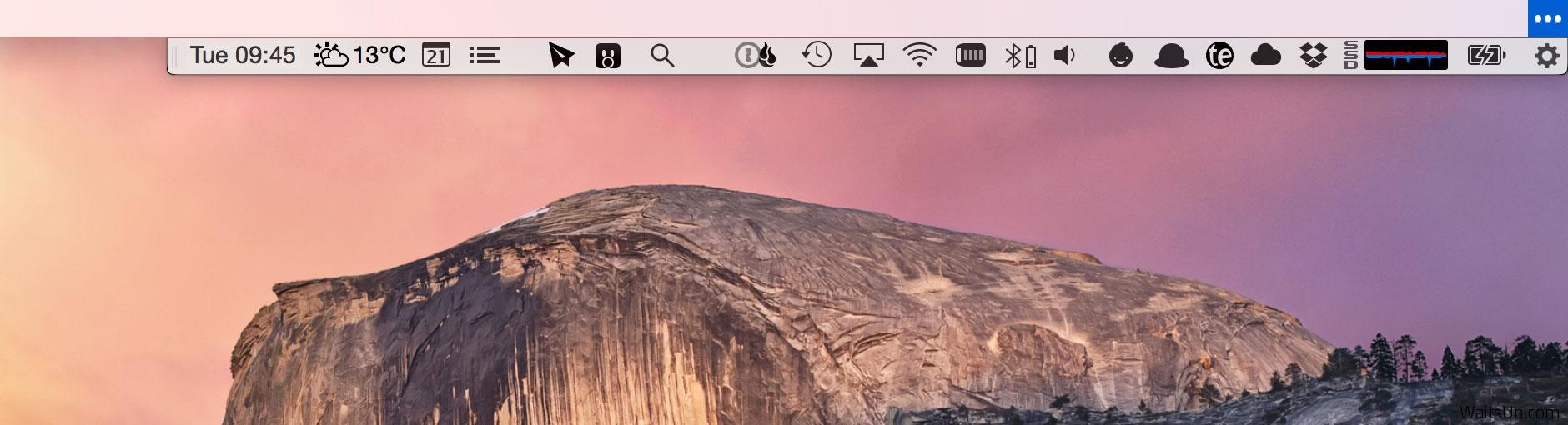 Bartender 2 for Mac 2.1.0 注册版 – 最好用的菜单栏图标管理工具-麦氪派