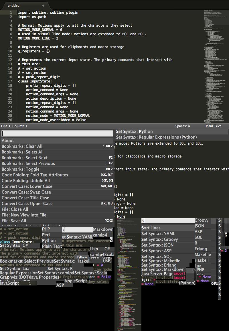 Sublime Text 3 for Mac 3120 序号版 – 绝对强大的代码编辑神器-麦氪派