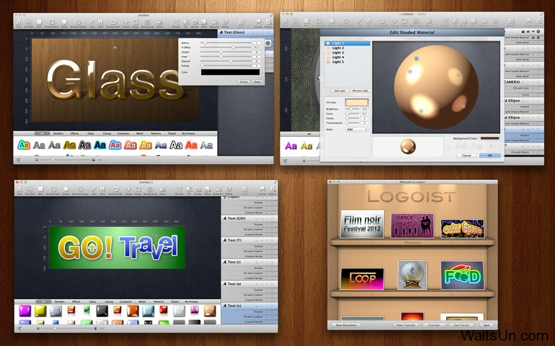 Logoist 2 for Mac 2.5.2 破解版 – Mac 上非常好用的图标LOGO制作工具-麦氪派