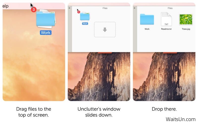 Unclutter for Mac 2.0.6 破解版 – Mac上高效率的文件信息快速存储工具