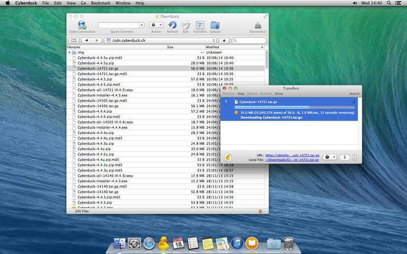 Cyberduck for Mac 4.7.3 中文破解版 – Mac上优秀的FTP客户端工具-麦氪派(WaitsUn.com | 爱情守望者)