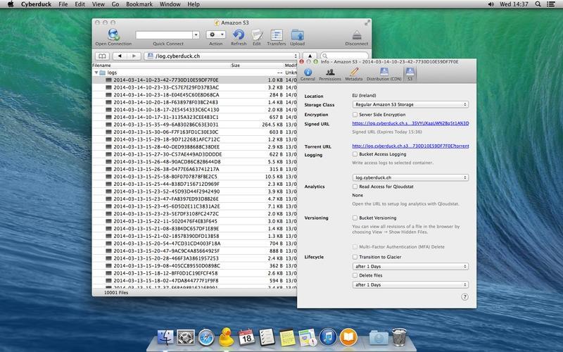Cyberduck for Mac 4.7.3 中文破解版 – Mac上优秀的FTP客户端工具-麦氪派