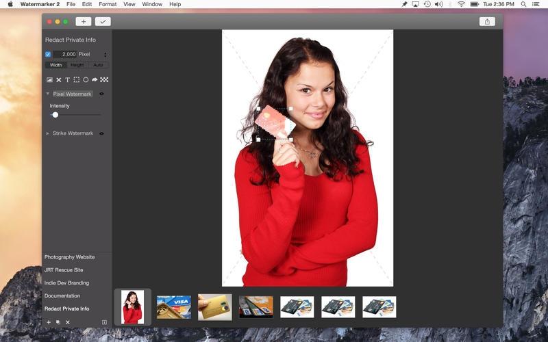 Watermarker for Mac 2.0.1 破解版 – 专业图像水印添加工具-麦氪派