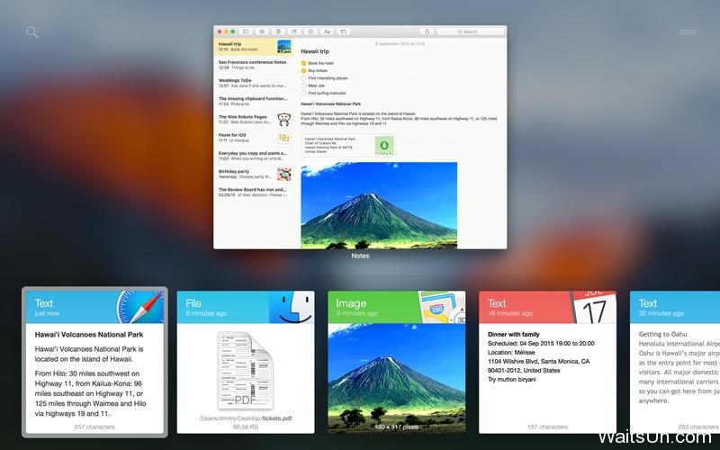 Paste for Mac 2.0 激活版 – 华丽的剪切板记录增强工具