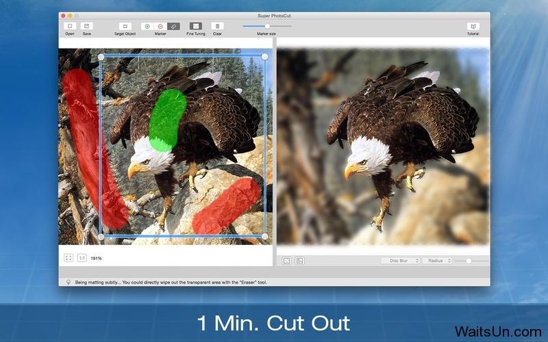 Super PhotoCut for Mac 1.6 破解版 – 专业图片抠图工具