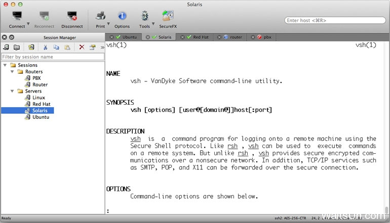SecureCRT for Mac 8.3.1 序号版 - Mac上专业的终端SSH工具