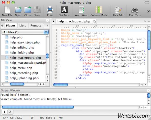 UltraEdit for Mac 16.10.0.10 破解版 – Mac上优秀的文本编辑器-麦氪派