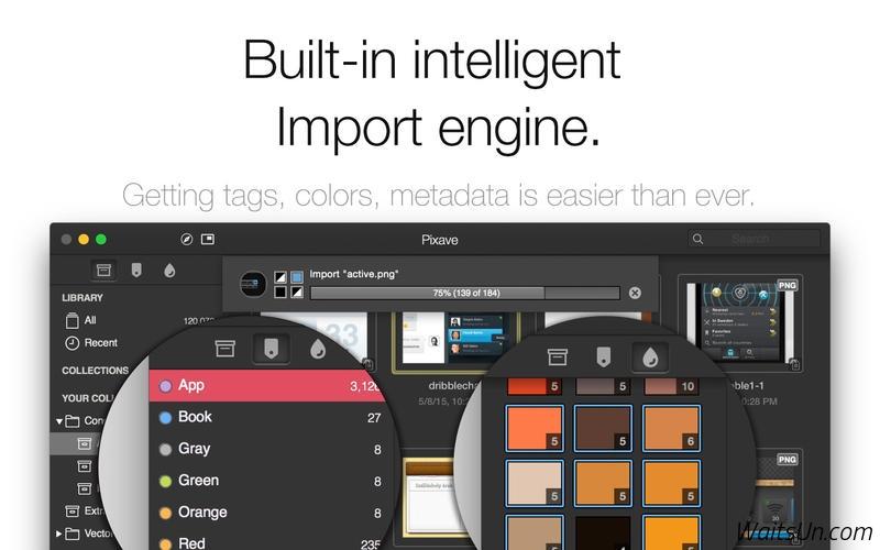 Pixave for Mac 1.0.5 破解版 – 实用的图片素材收集整理工具-麦氪派(WaitsUn.com | 爱情守望者)