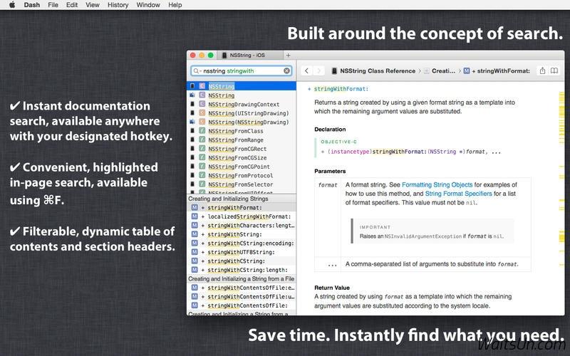 Dash 3 for Mac 3.1.3  破解版 – 必备的 API 文档管理工具-麦氪派