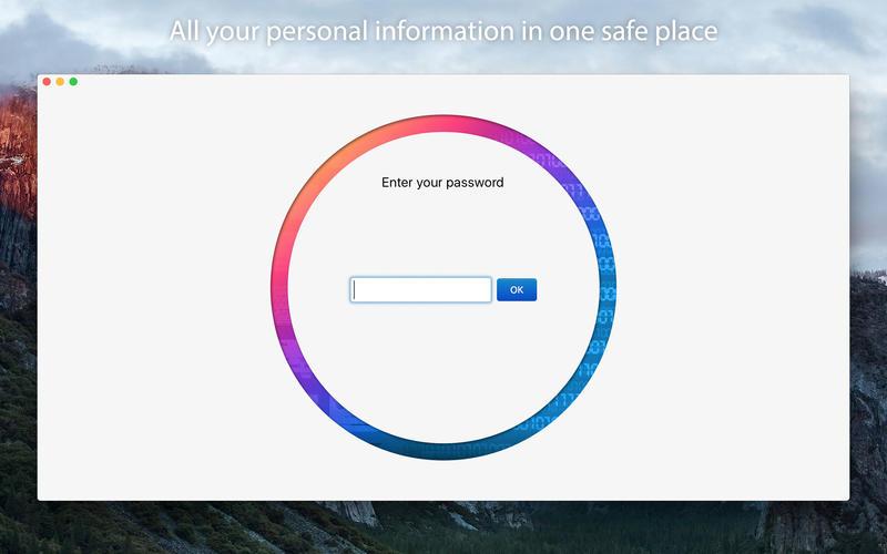 oneSafe 2.2.5 Mac 破解版 – 强大安全的密码管理工具-爱情守望者