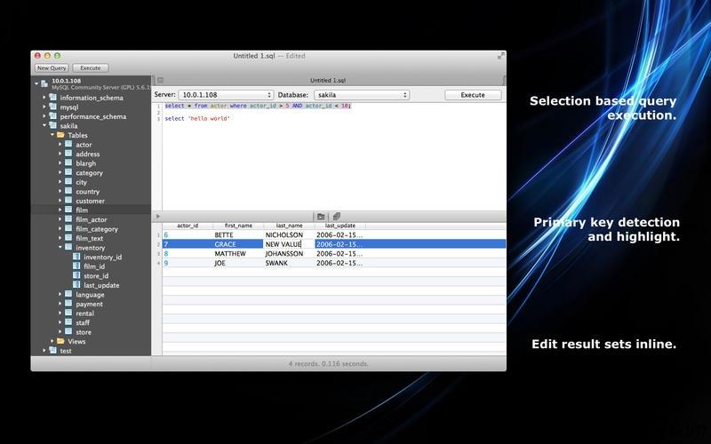 SQLPro for MySQL 1.0.12 破解版 – 优秀的MySQL客户端-麦氪派