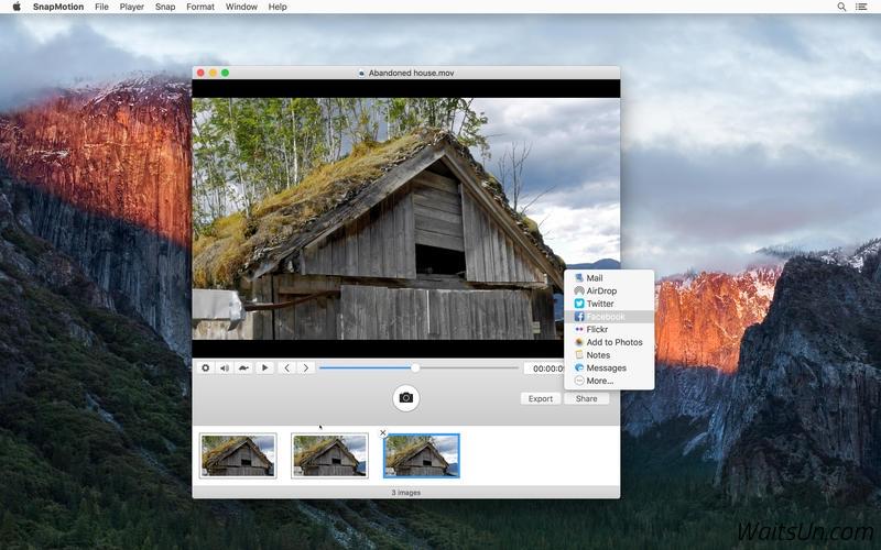 SnapMotion 3 for Mac 3.1.3 激活版 – 快速视频截图工具-麦氪派
