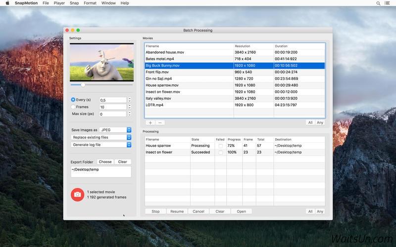 SnapMotion 4.1.0 Mac 破解版 – 快速视频截图工具-麦氪派