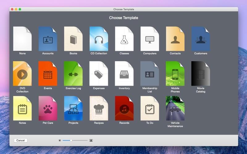 iDatabase for Mac 3.21 激活版 – 强大的个人信息数据库管理工具-爱情守望者