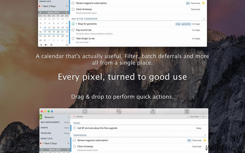 2Do 2 for Mac 2.2.1 破解版 – 优秀的待办事项管理GTD工具-麦氪派