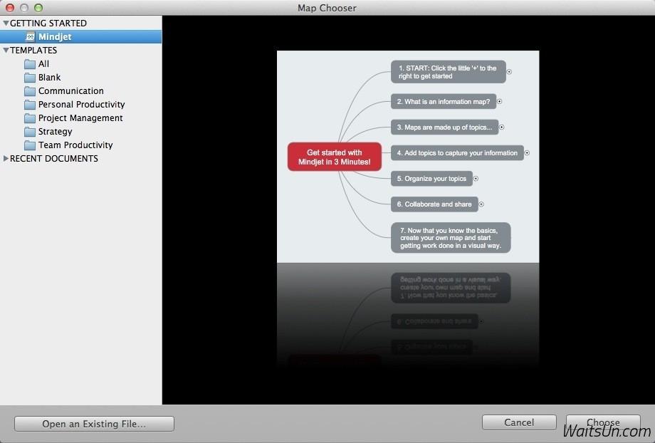 Mindjet MindManager for Mac 10.3.637 注册版 – Mac上经典优秀的思维导图软件-麦氪派