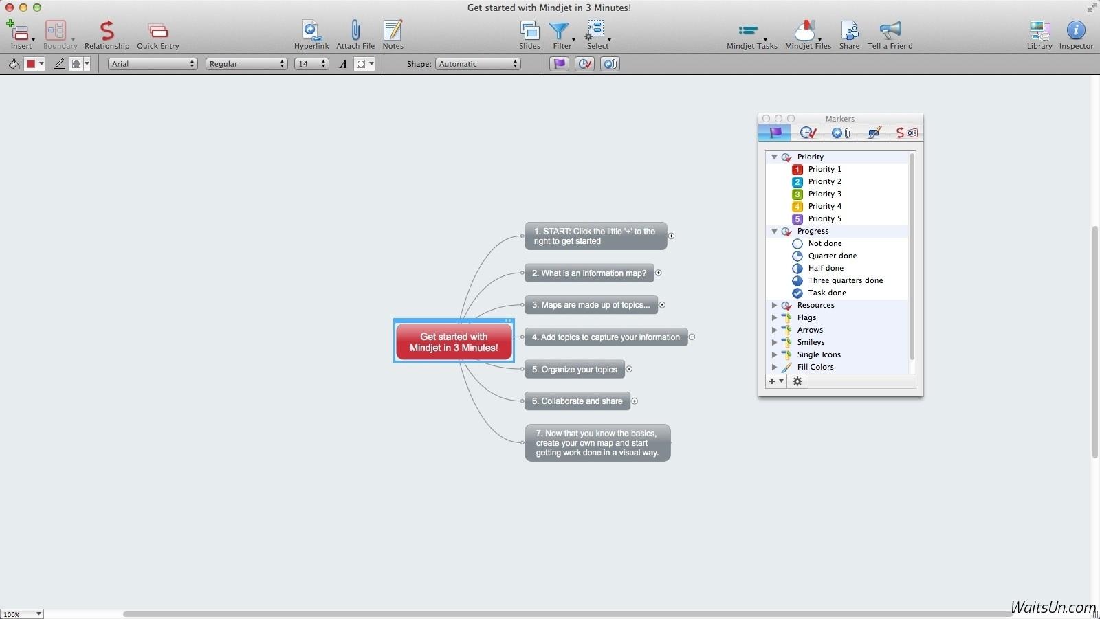 Mindjet MindManager for Mac 10.3.637 注册版 – Mac上经典优秀的思维导图软件-麦氪派(WaitsUn.com | 爱情守望者)