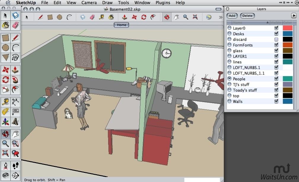 SketchUp Pro 2016 for Mac 16.0 注册版 – 专业强大的3D建模软件