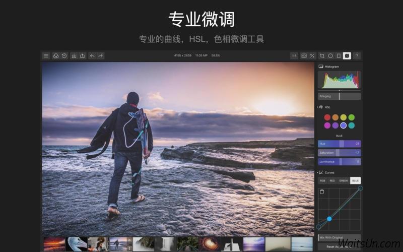 泼辣修图 Polarr Photo Editor for Mac 3.0 激活版 – 专业摄影修图必备工具