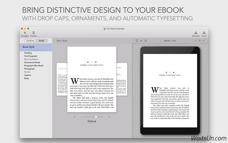 Vellum for Mac 1.3.6 破解版 – Mac上优秀的电子书制作工具-麦氪派
