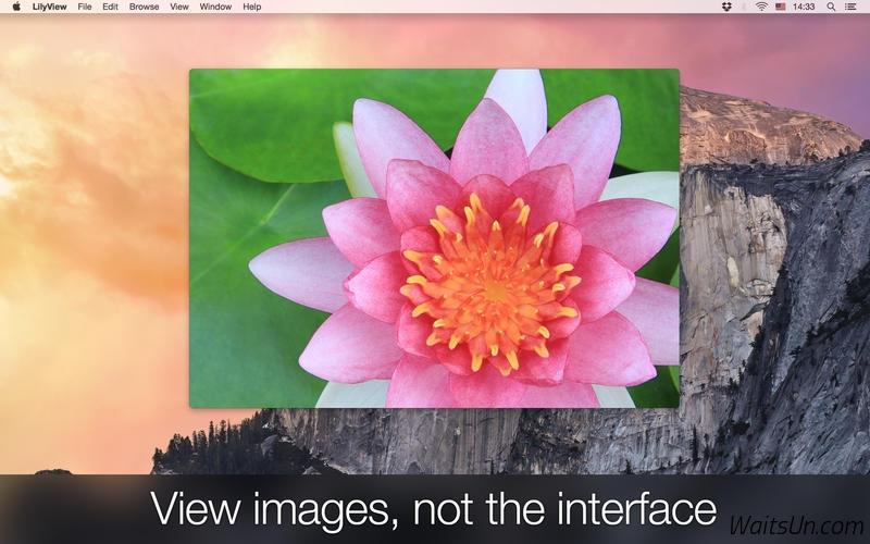LilyView for Mac 1.2 激活版 – Mac 上优秀的轻量级图片浏览工具