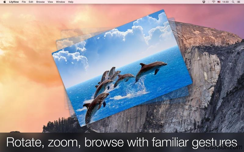 LilyView for Mac 1.2 激活版 – Mac 上优秀的轻量级图片浏览工具-麦氪派