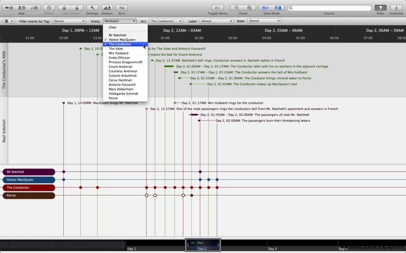 Aeon Timeline for Mac 2.0.3 注册版 – Mac上创造性思维的时间轴工具-麦氪派(WaitsUn.com)