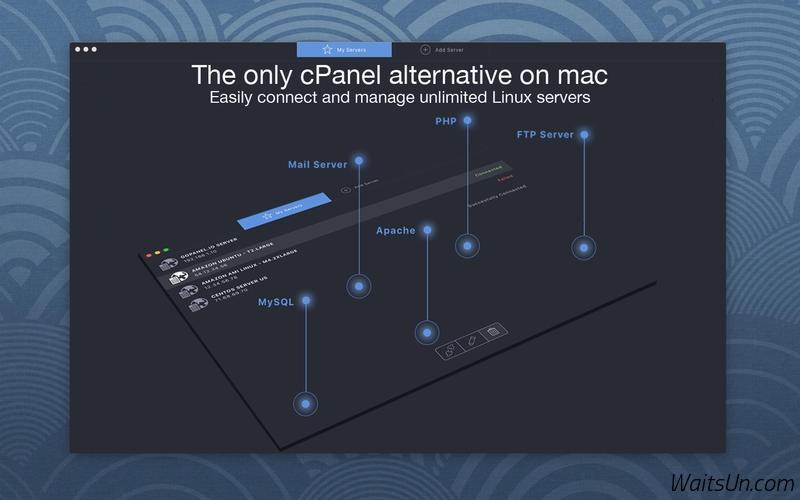 goPanel for Mac 1.5.1 激活版 – 实用的服务器管理工具-麦氪派