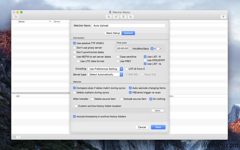 Yummy FTP Watcher for Mac 3.0.8 序号版 – FTP自动上传/下载/同步工具-麦氪派