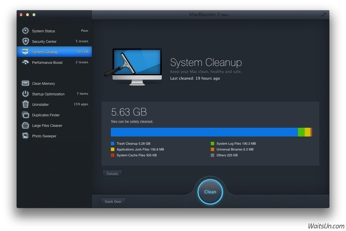 MacBooster for Mac 4.0.3 激活版 - 系统安全扫描和垃圾清理工具