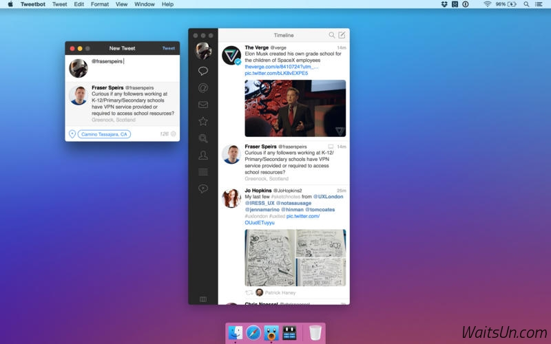 Tweetbot 2 for Twitter 2.4 破解版 – 优秀的Twitter客户端-麦氪派(WaitsUn.com | 爱情守望者)
