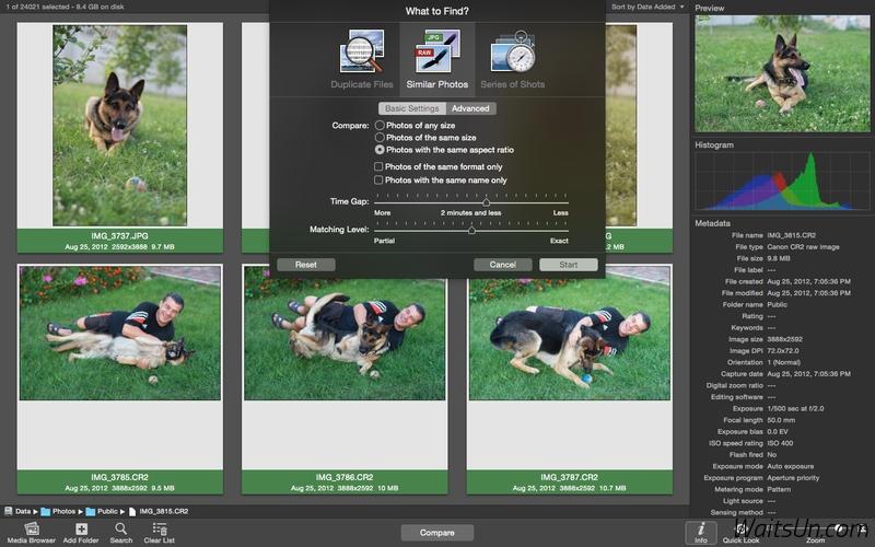 PhotoSweeper for Mac 2.2.4 破解版 – Mac上实用的检索重复相似照片的工具-麦氪派