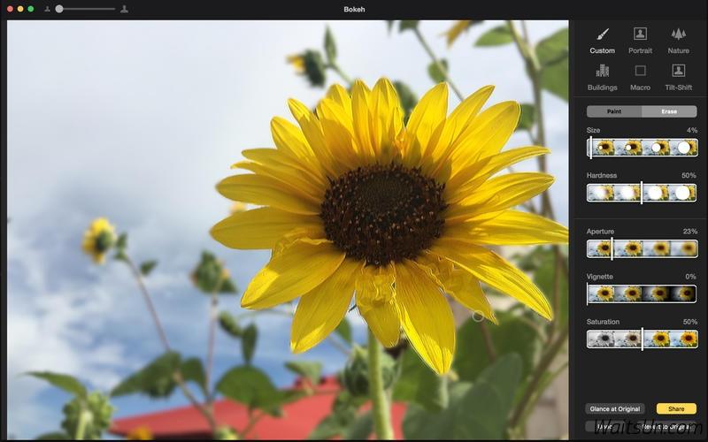 Bokeh for Mac 1.0 破解版 – 背景虚化软件-麦氪派(WaitsUn.com | 爱情守望者)