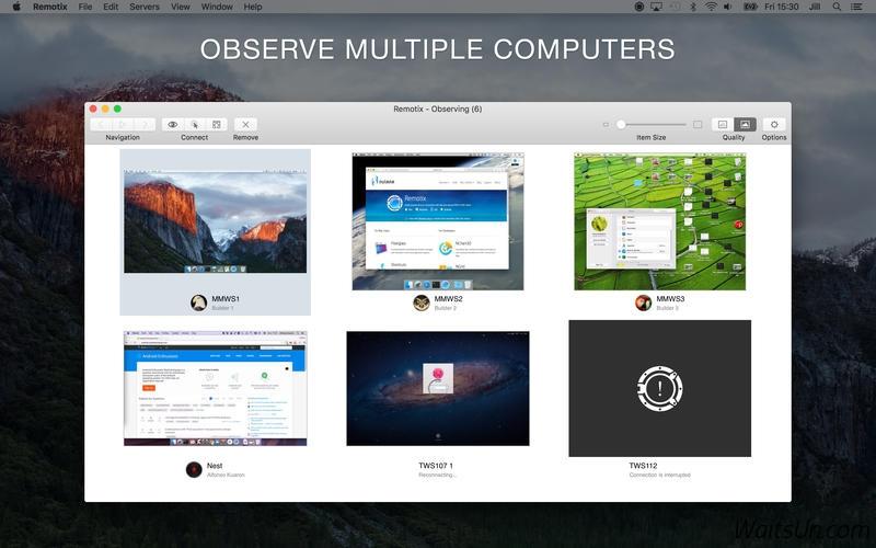 Remotix for Mac 4.0.1 破解版 – 优秀的远程桌面工具-麦氪派(WaitsUn.com | 爱情守望者)