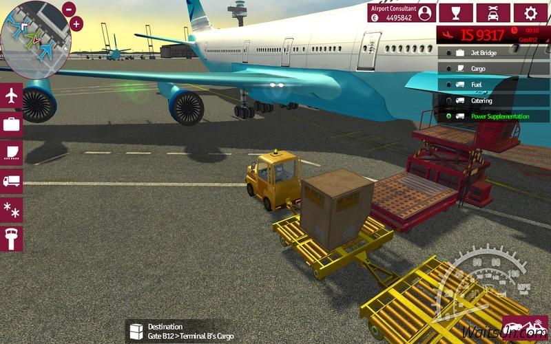 Airport Simulator 2015 for Mac 1.0 激活版 – 投身机场支持服务模拟机场类游戏-麦氪派