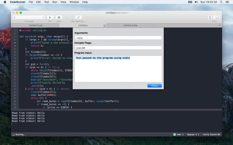 CodeRunner 3.0.1 Mac 破解版 – 实用的多语言编程开发工具-爱情守望者