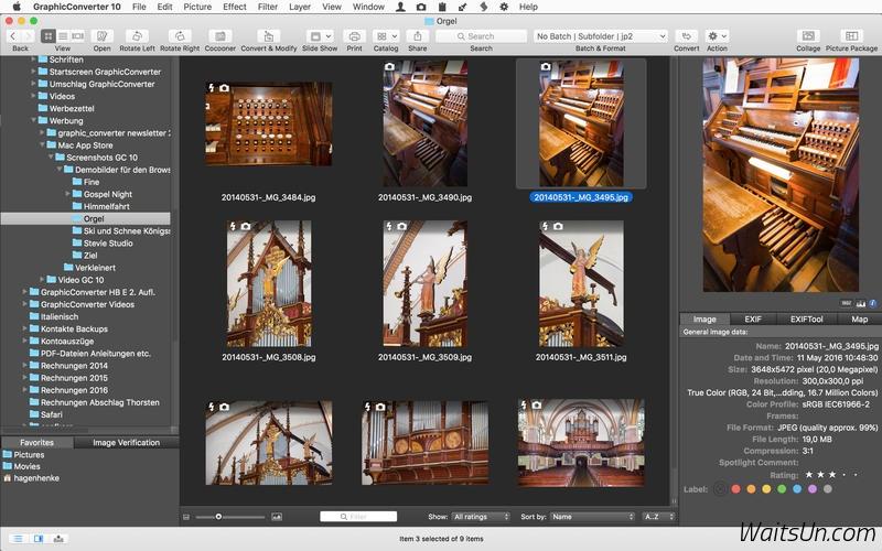 GraphicConverter 10 for Mac 10.1.0 序号版 – Mac上强大的图片编辑浏览工具-麦氪派(WaitsUn.com | 爱情守望者)