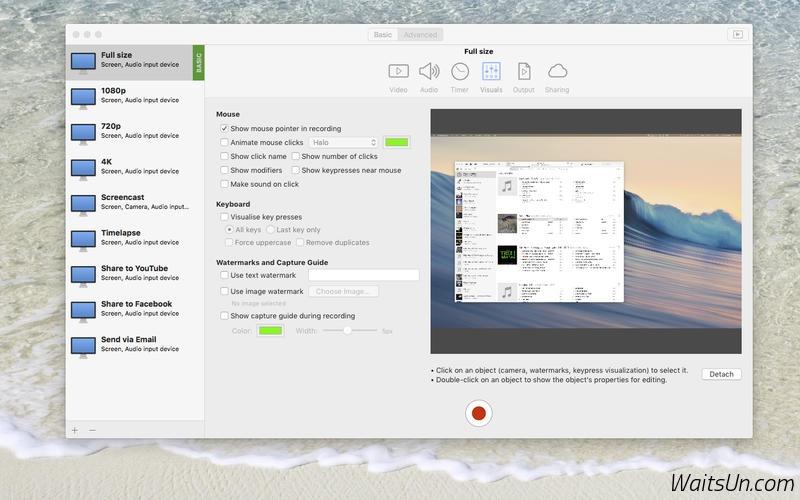 iShowU Instant for Mac 1.0.8 破解版 – 高效屏幕录制软件-麦氪派(WaitsUn.com)