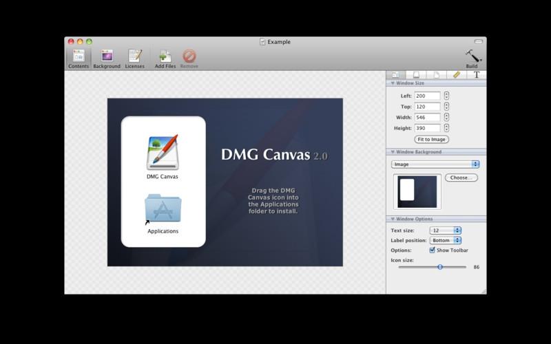 DMG Canvas for Mac 2.3.1 激活版 – 最好用的DMG镜像制作工具