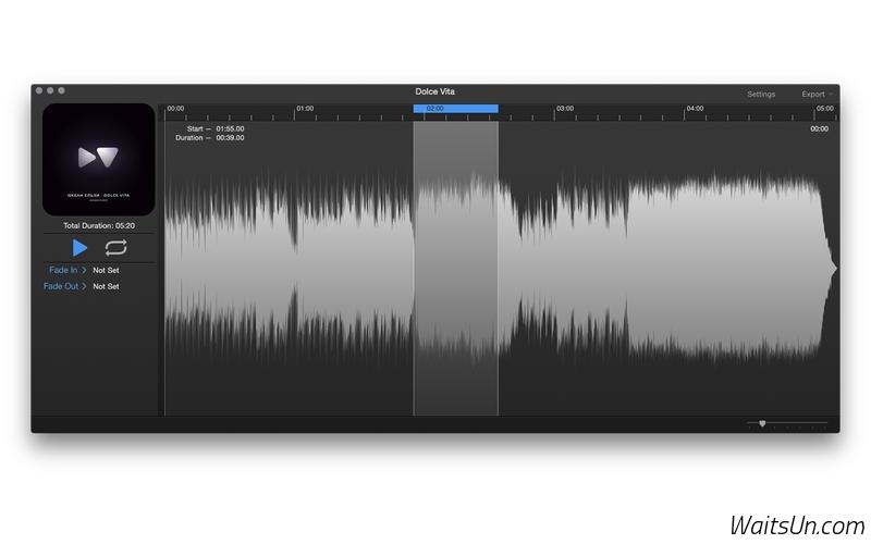 i39 for Mac 1.4 激活版 – 简单、快捷铃声制作软件