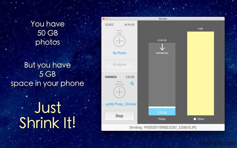 Shrinker Pro for Mac 1.1 破解版 – 最好的图片无损压缩工具-麦氪派