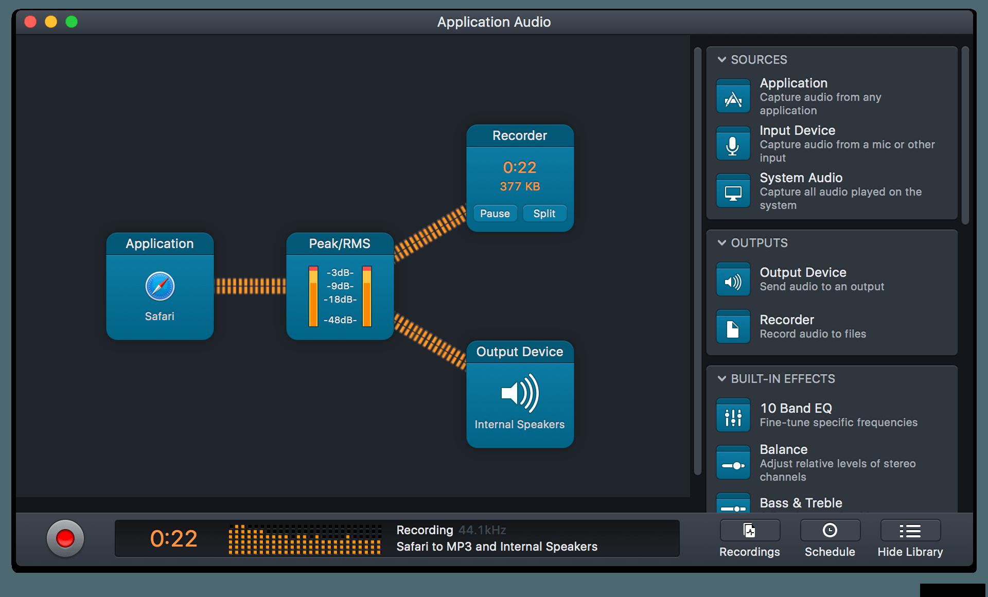 Audio Hijack for Mac 3.3.8 序号版 – Mac上强大的音频录音工具